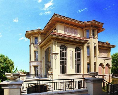 意大利风情轻钢别墅