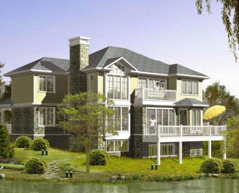 轻钢集成别墅设计