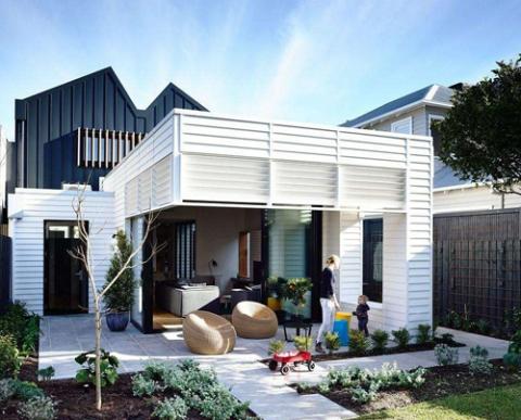现代风情钢制别墅